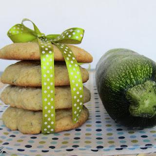 Zucchini, Lemon and Ginger Cookies.
