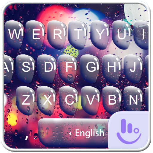 Love In Rainy Keyboard Theme 生活 App LOGO-硬是要APP