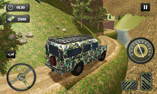 US OffRoad Army Truck driver 2020 screenshots 3