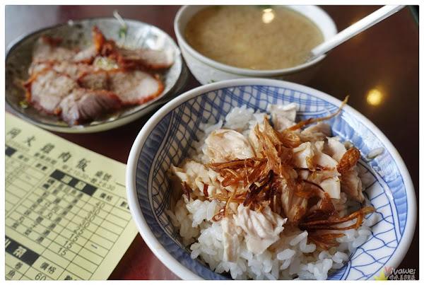 大同火雞肉飯(嘉義市)-有油蔥酥點綴的香噴噴火雞肉飯!(文內有完整菜單menu)嘉義市東區美食|