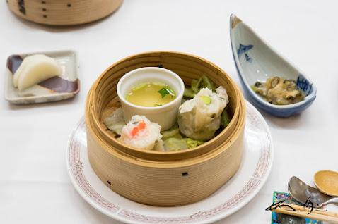蒸物 蛸と灯台螺二種の和風焼売 美味出汁