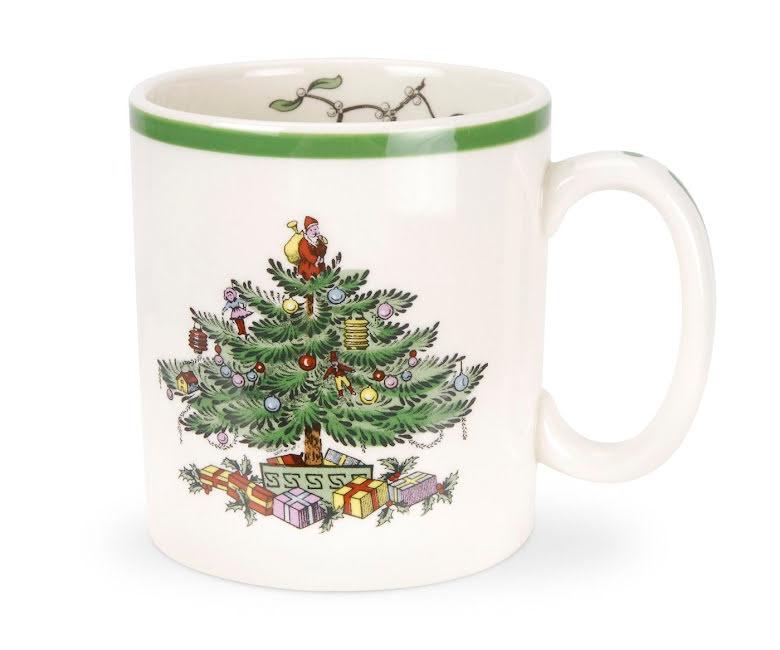 Christmas Tree Mugg 22cl 4-pack