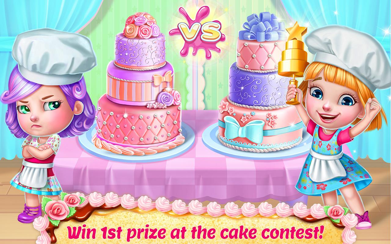Real Cake Maker 3D- screenshot