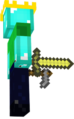 Is a cool diamond noob king
