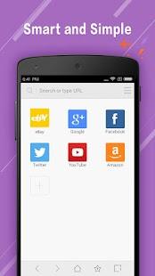 Web Browser - Secure Explorer - náhled