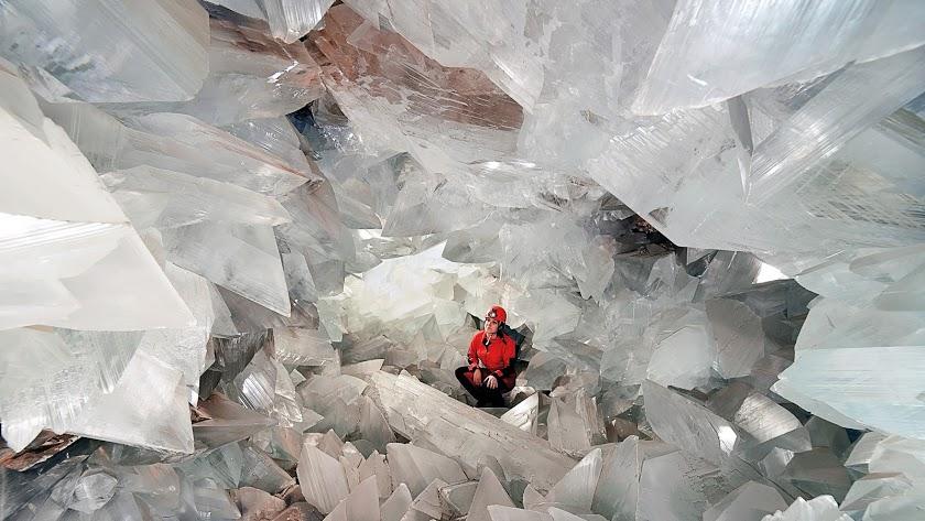 La Geoda de Pulpí, un gran atractivo turístico de la provincia.