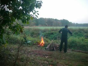 Photo: już płonie