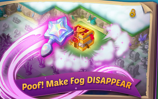 EverMerge: Merge & Build A Magical Enchanted World apkpoly screenshots 2