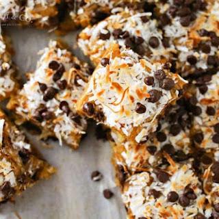 Caramel Coconut Blondies Recipe