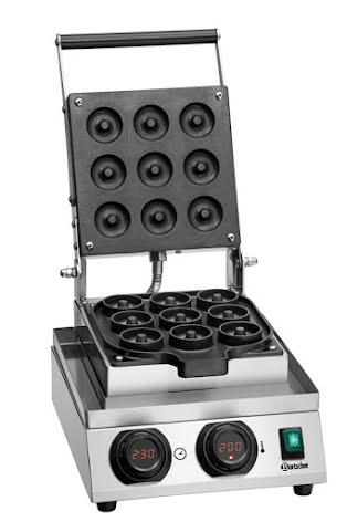 Våffeljärn aluminium MDI Donut 900,<br> Bartscher