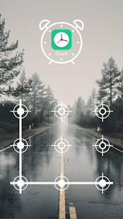 Applock Theme - Winter Nature - náhled