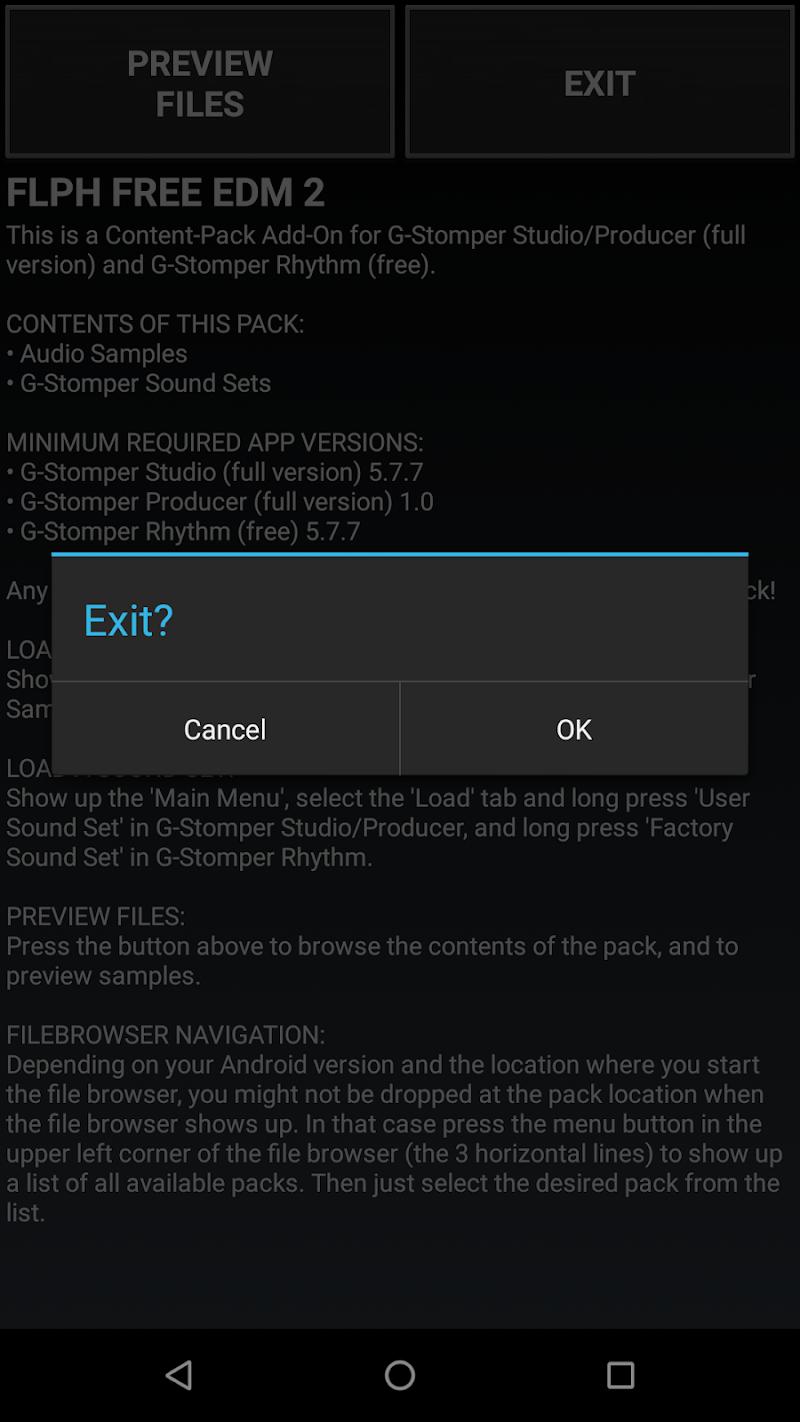 Скриншот G-Stomper FLPH FREE EDM 2