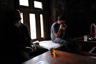 Photo: ヌンタラ村でランチ。食後の紅茶
