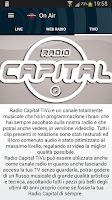 Screenshot of Radio Capital
