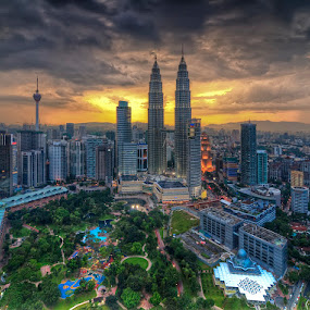 Kuala Lumpur City Centre by Sham ClickAddict - City,  Street & Park  City Parks