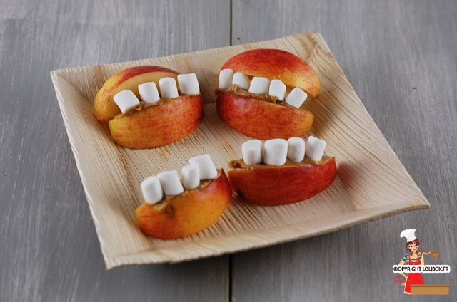 Vampire Mouths (for Halloween) Recipe