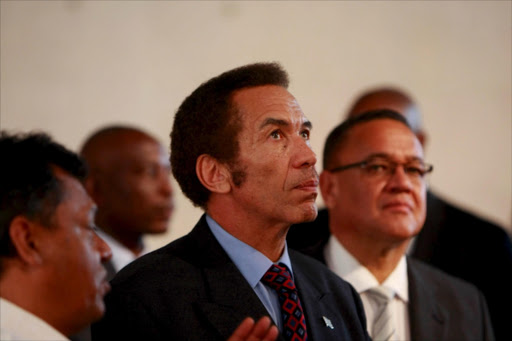 Botswana President Ian Khama has called for Zimbabwe President Robert Mugabe to 'go'.