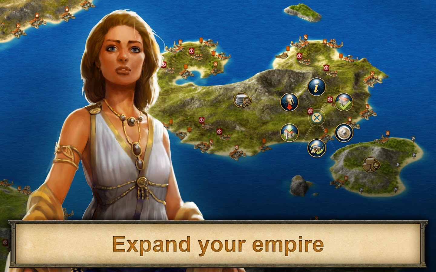 Screenshots of Grepolis - Divine Strategy MMO for iPhone
