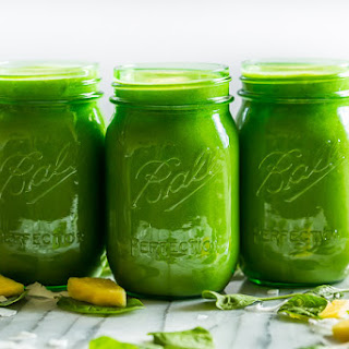 Pina Colada Green Smoothie.