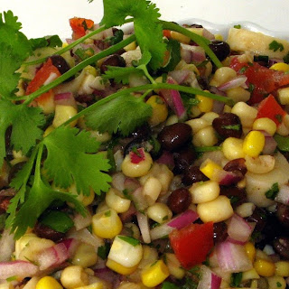 Black Bean & Hearts of Palm Salad