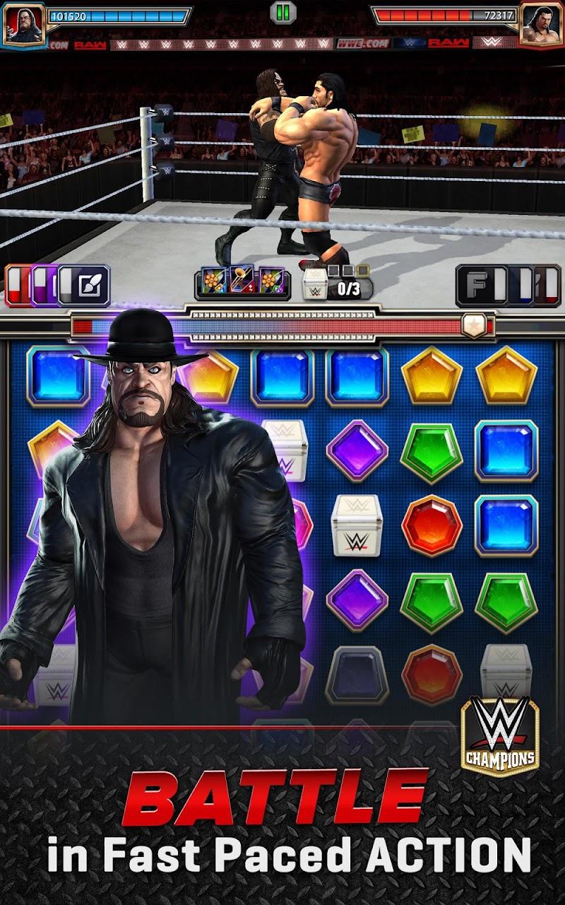 WWE Champions - Free Puzzle RPG Game Screenshot 8