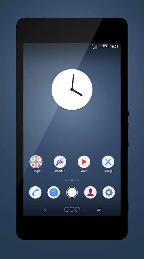 N Theme + Icons- screenshot