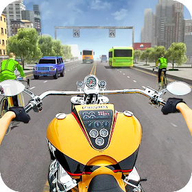 Motorcycle Traffic 3D