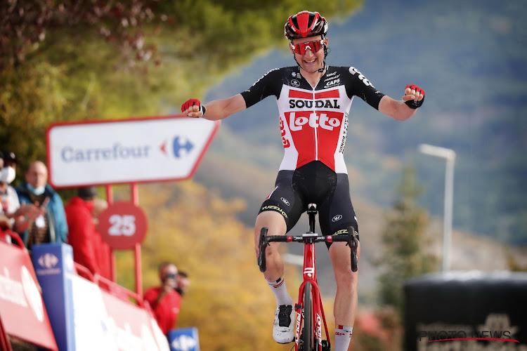 Aanvallen in eerste Vueltaritten hebben Tim Wellens geholpen