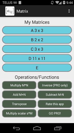 The Matrix App