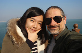 Photo: with neice SoMi on the Oryukdo Skywalk