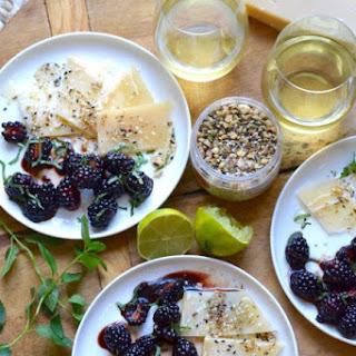 Blackberry and Parmesan Appetizer Recipe