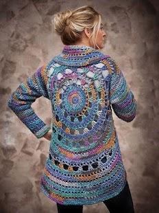 Cute Crochet Pattern Design - náhled