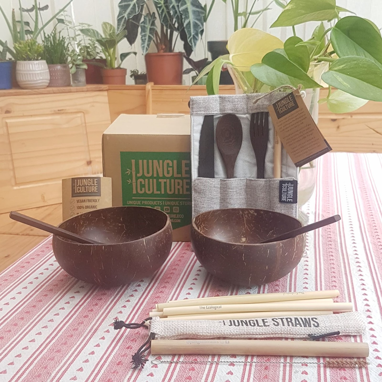 A sustainable goal can be slowly changing out low quality and plastic products for lifelong options and eco friendly swaps like bamboo bowls, reusable straws, and washable travel cutlery