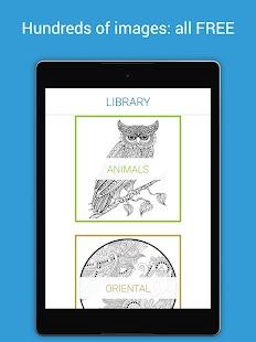 colorify free coloring book screenshot thumbnail - Free Coloring Book Apps