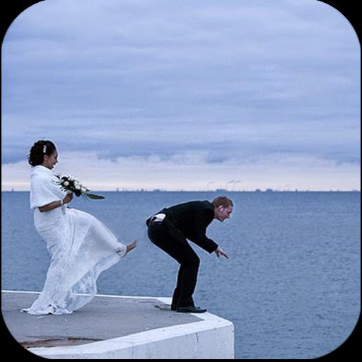 اطرف صور للعروسين