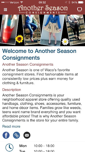 Another Season Consignment