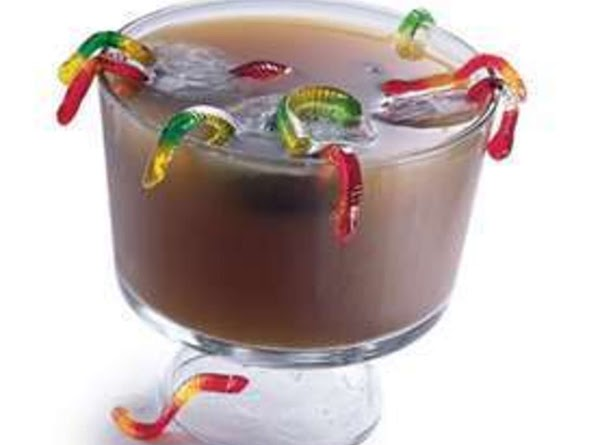 Muddy Worms Drink For Samhain/halloween Recipe