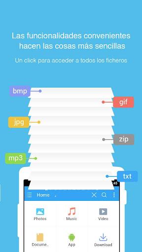 ES Explorador de Archivos para Android