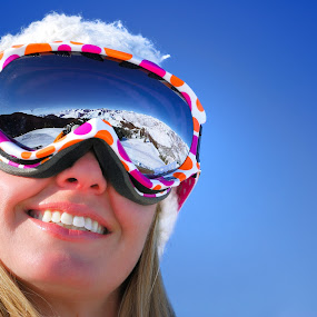 skiing slopestyle in Sun Valley, Idaho by Tory Taglio - Sports & Fitness Snow Sports ( baldy, ski resort, powder, ketchum, sun valley, skier )