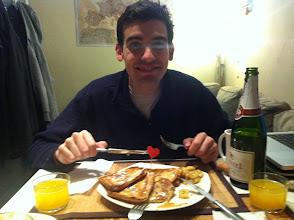 Photo: Valentine's desayuno with my love.