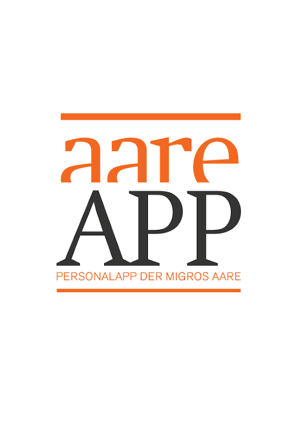 aare APP – Screenshot