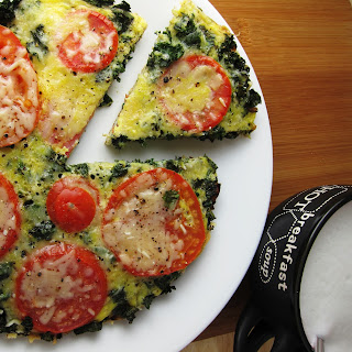 15 Minute Vegetable Loaded No Bake Frittata