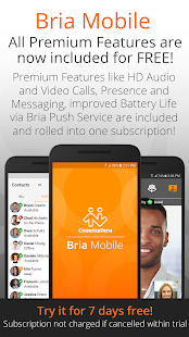 Bria Mobile: VoIP Business Communication Softphone - náhled