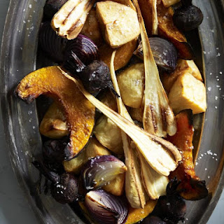 Roasted Autumn Vegetables.