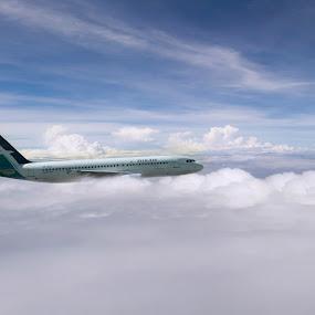by Mohamad Sa'at Haji Mokim - Transportation Airplanes