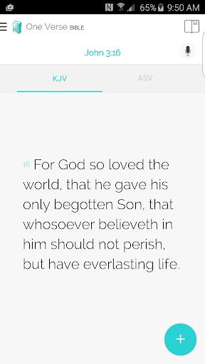 圣经 - One Verse