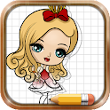 Drawing Ever After High icon