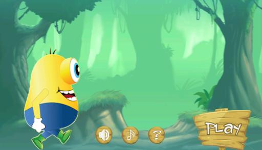 minion banana jungle