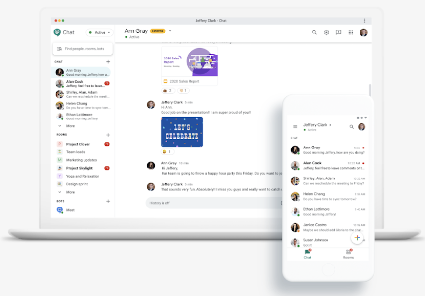 Google Chat is a hidden gem in the communication apps category.