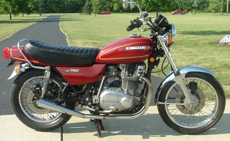 Kawasaki KZ 750 LTD Twin-manual-taller-despiece-mecanica